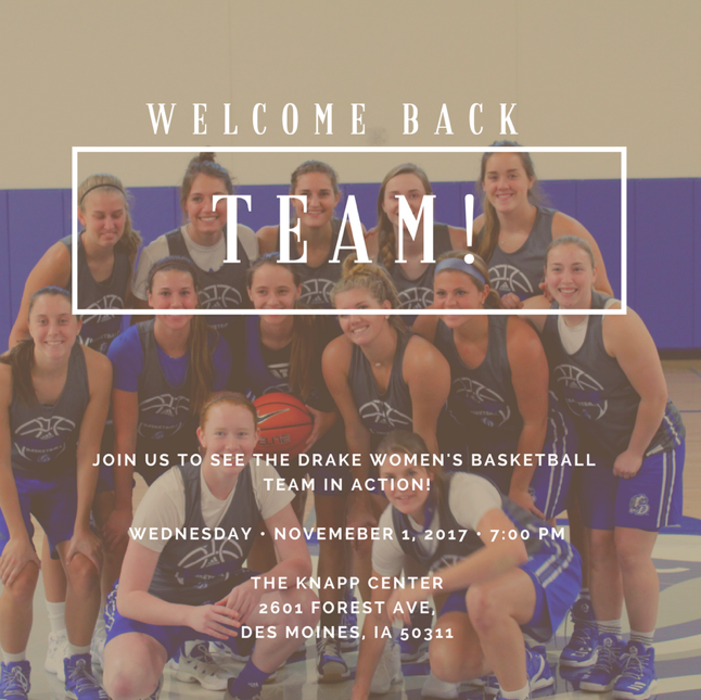 Fun facts about drake women s basketball and their run to for Fun facts about drake
